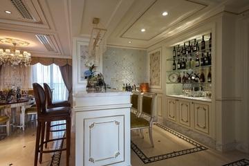 法式奢华住宅欣赏吧台
