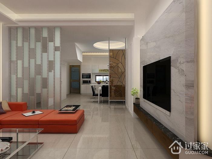 时尚现代家居 客厅背景墙装饰效果图
