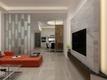 80平现代三居室装修案例