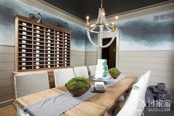 细节营造迷人现代别墅欣赏餐厅设计