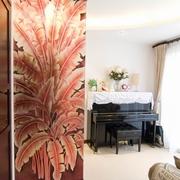 中式家居室内家具钢琴图片