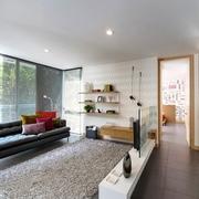 现代自然三居室设计欣赏
