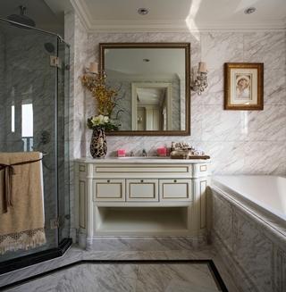 法式奢华住宅欣赏卫生间效果