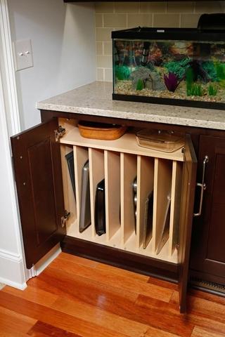 简约风格装饰住宅样板房效果图橱柜设计