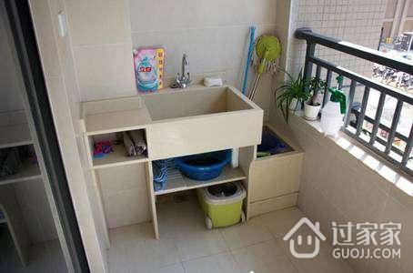 阳台砖砌洗衣池做法及施工注意事项