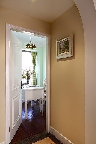 奢华美式三室两厅住宅欣赏书房陈设