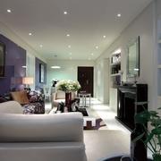 时尚家居 现代客厅背景墙装饰效果图