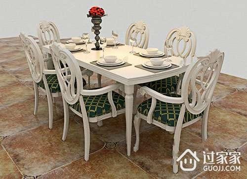欧式餐桌的材质 欧式餐桌的选购