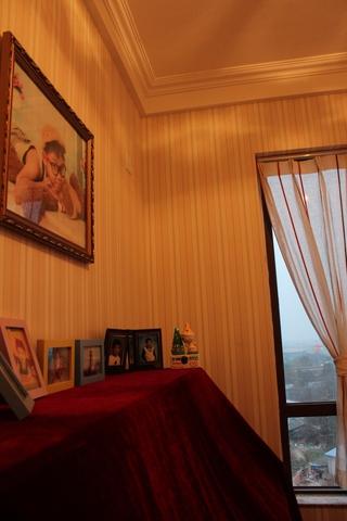 89平简欧三居室欣赏卧室吊顶