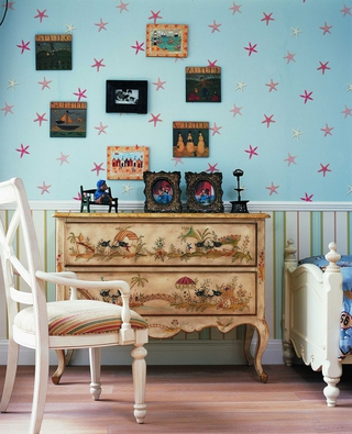 混搭风格温馨住宅欣赏卧室局部
