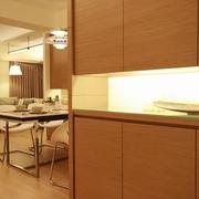 83平日式风格住宅欣赏餐厅局部