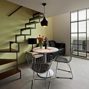 复式小客厅餐厅设计图