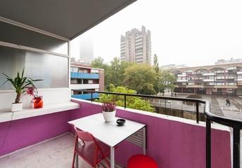 多彩拼接现代住宅欣赏阳台