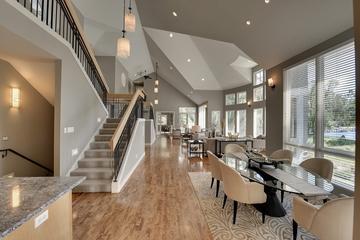 现代风格装饰别墅欣赏厨房过道设计