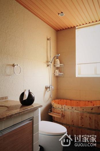 现代摩登风住宅欣赏卫生间吊顶