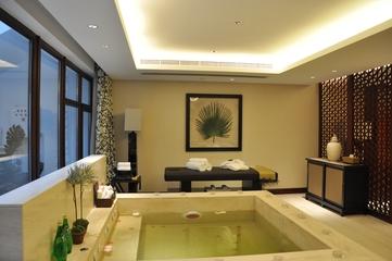 现代别墅设计效果浴缸