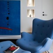 奢华新中式单人沙发