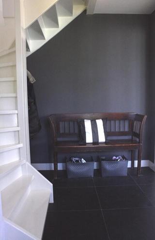 现代别墅效果图玄关摆设