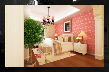 地中海风格设计样板房欣赏儿童房