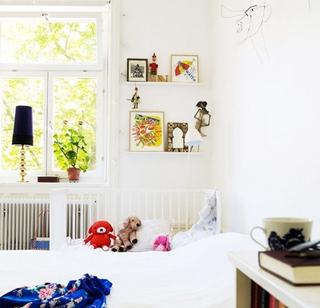 复古创意宜家风格欣赏卧室