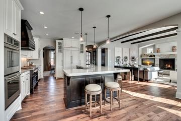 美式豪华别墅效果套图厨房设计图