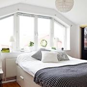 43平现代有爱一居室欣赏卧室