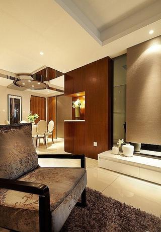客厅鞋柜装饰效果图 会收纳的背景墙
