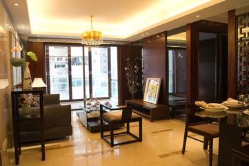 欧式新古典住宅休息厅