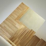 112平日式风格住宅欣赏楼梯间设计