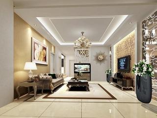 110平简约三居室设计欣赏