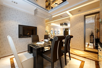 98平新古典两居室欣赏