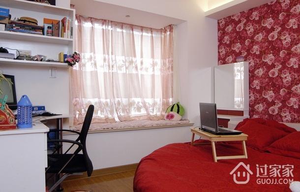 小两口新婚公寓欣赏卧室局部