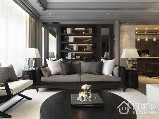 灰色现代空间住宅欣赏