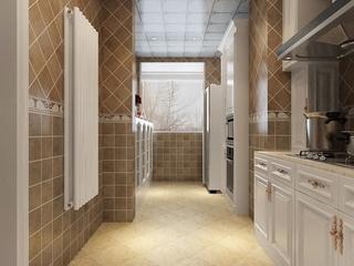 109平新中式住宅欣赏卫生间吊顶