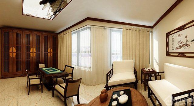 【黑科技】我为李总家设计的效果图,有阳光房、棋牌室、佛堂!