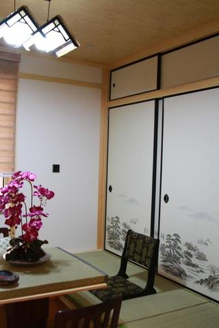 雅致89平中式风住宅欣赏茶室