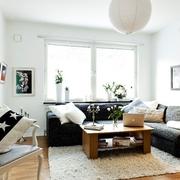 北欧风30平空间欣赏客厅