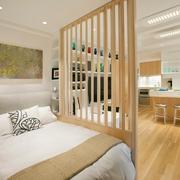 38平巧装简约一居室欣赏卧室