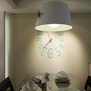 简约风住宅设计图餐厅吊灯
