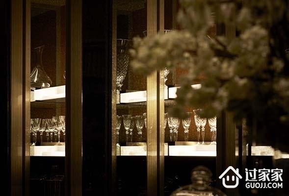 混搭时尚住宅设计套图欣赏酒柜