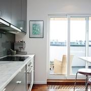 宜家风格装饰住宅效果图厨房效果图
