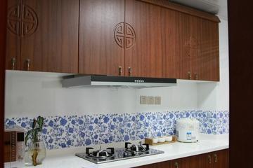 雅致89平中式风住宅欣赏厨房设计