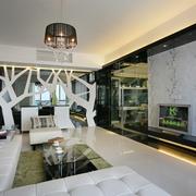 现代风格住宅设计客厅效果图