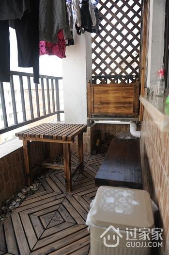 简洁一居室小豪宅欣赏阳台设计