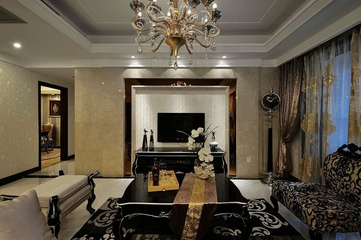 117平新古典三居室欣赏
