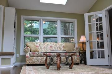 美式风格别墅装修套图家庭厅