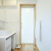 117平日式风格别墅欣赏洗手间效果图