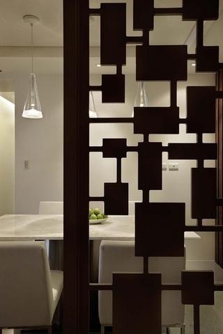 124平简约样板房欣赏餐厅设计