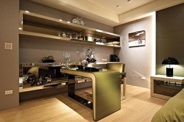 简约温馨设计住宅欣赏书房设计
