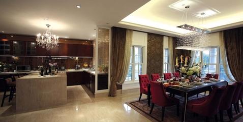 欧式风格设计厨房全景